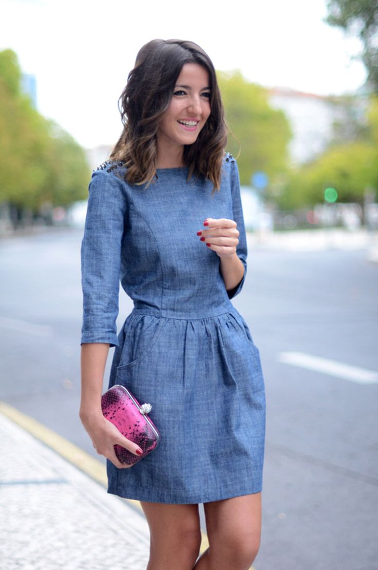 The-Denim-Dress