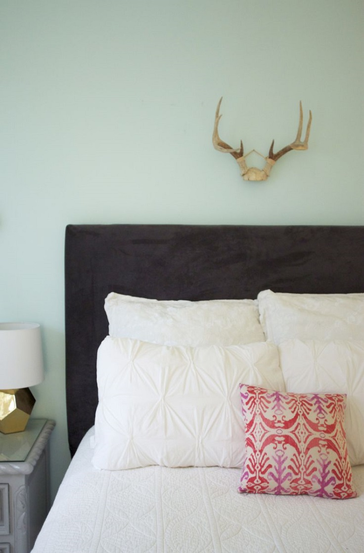 Top 10 beautiful ideas for creating your own headboard Make your own headboard