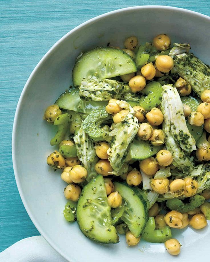 Chicken-Chickpea-and-Pesto-Salad