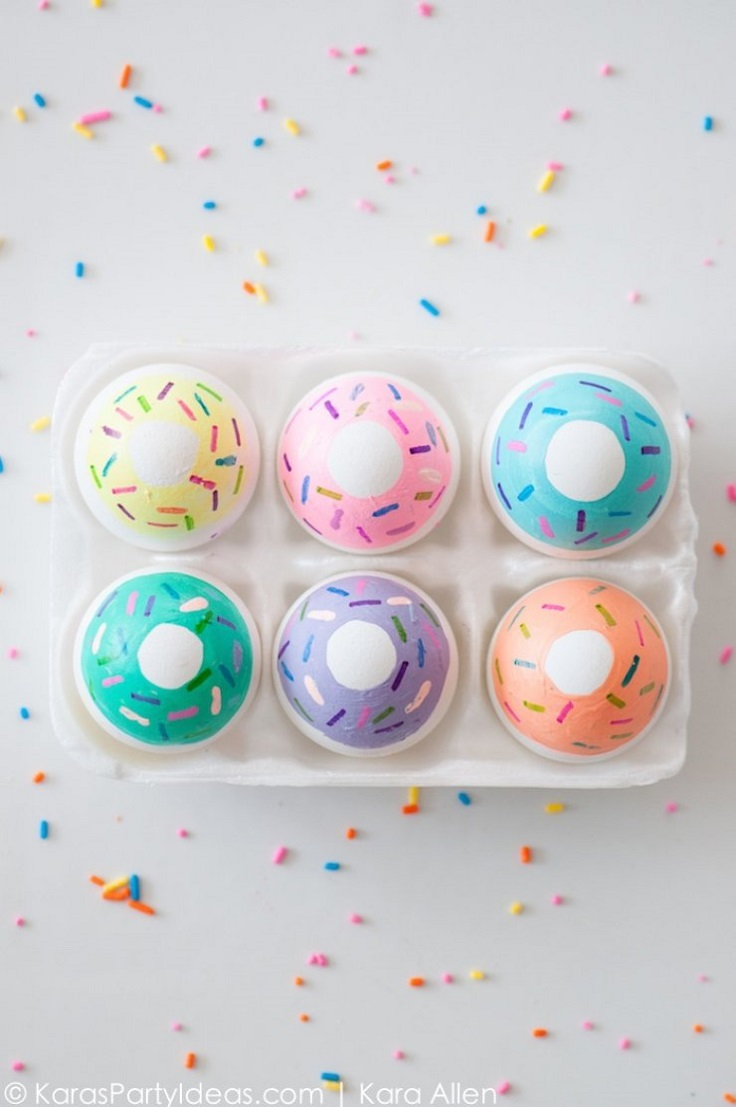 Doughnut-Easter-Eggs