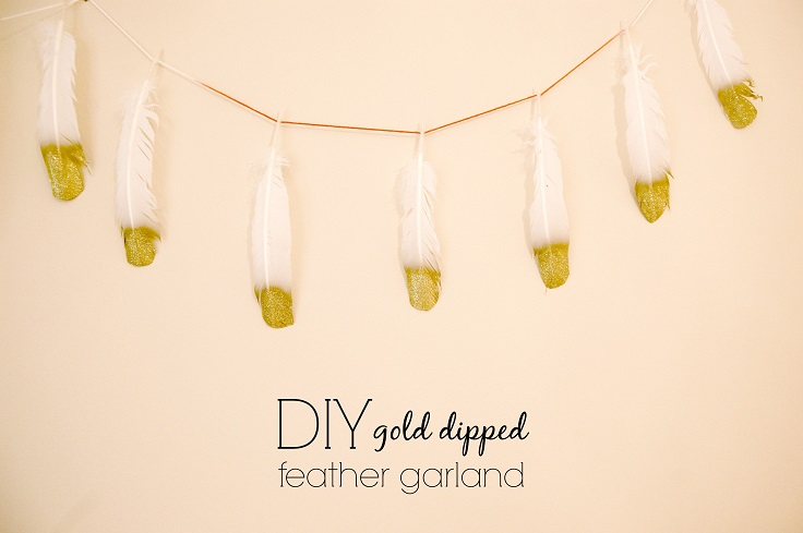 Gold-Dipped-Feather-Garland