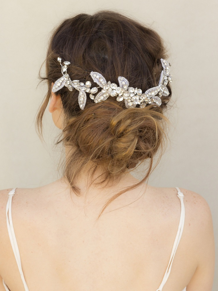 Bridal Hair Accessories For Buns : Top boho inspired hairstyles for your wedding day