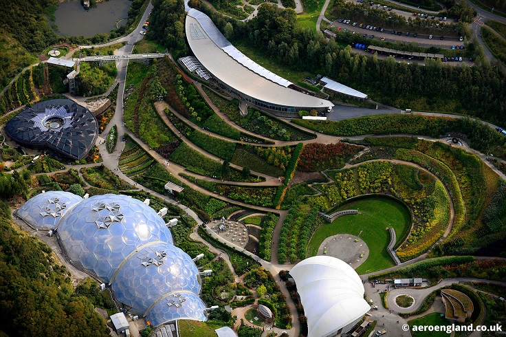 The-Eden-Project-Cornwall-England