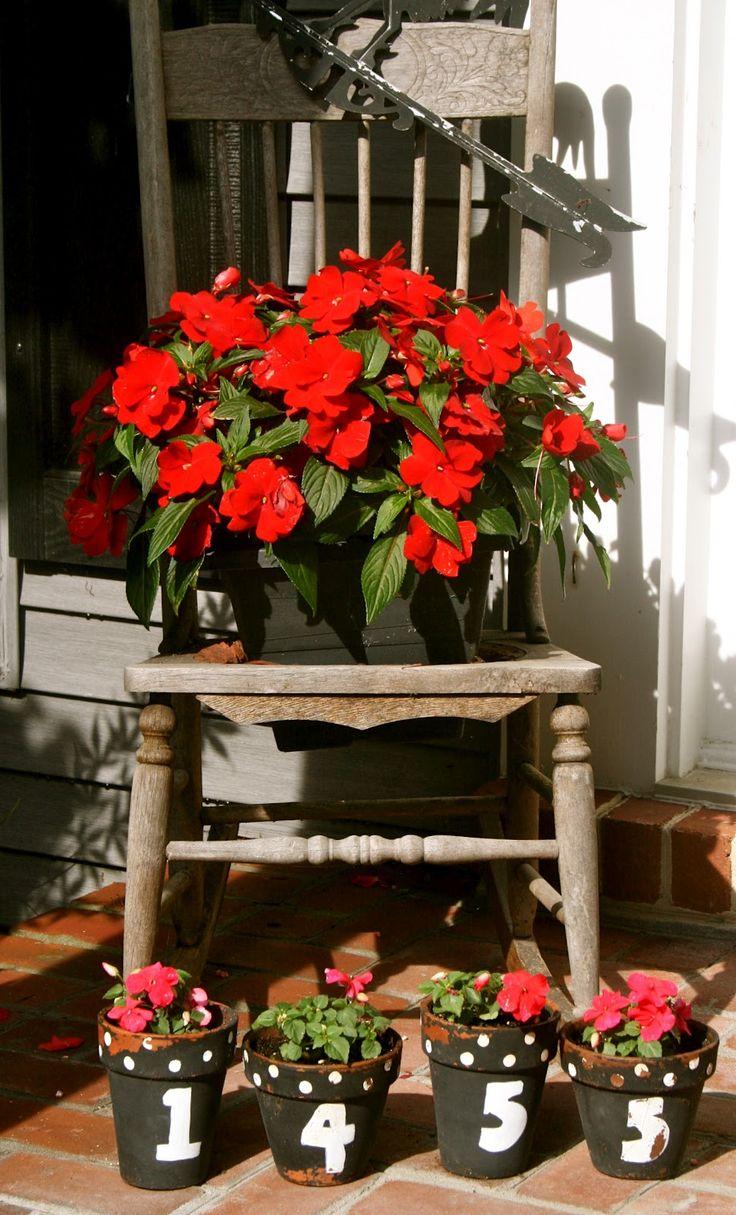 Plant Pot Painting Ideas Flowers