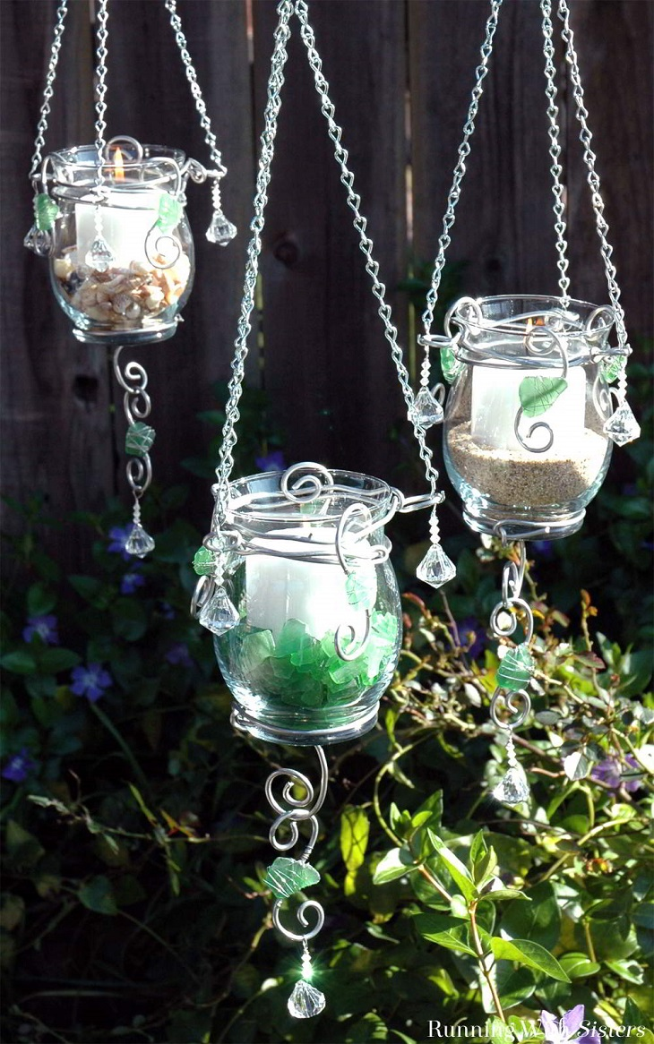 Top 10 diy hanging candle holders top inspired for Hanging candles diy