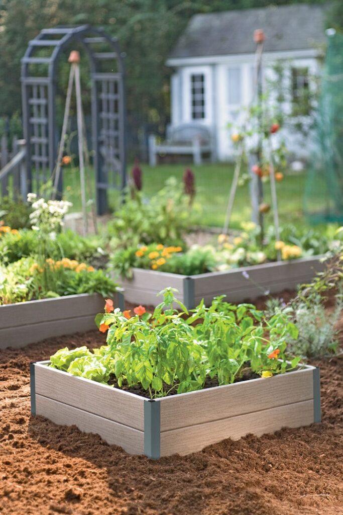 Pallet Vegetable Garden Raised