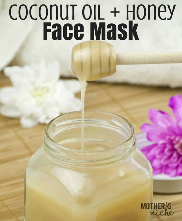 Coconut-Oil-Honey-Mask