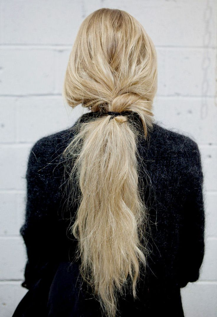 Loose-Twisted-Ponytail
