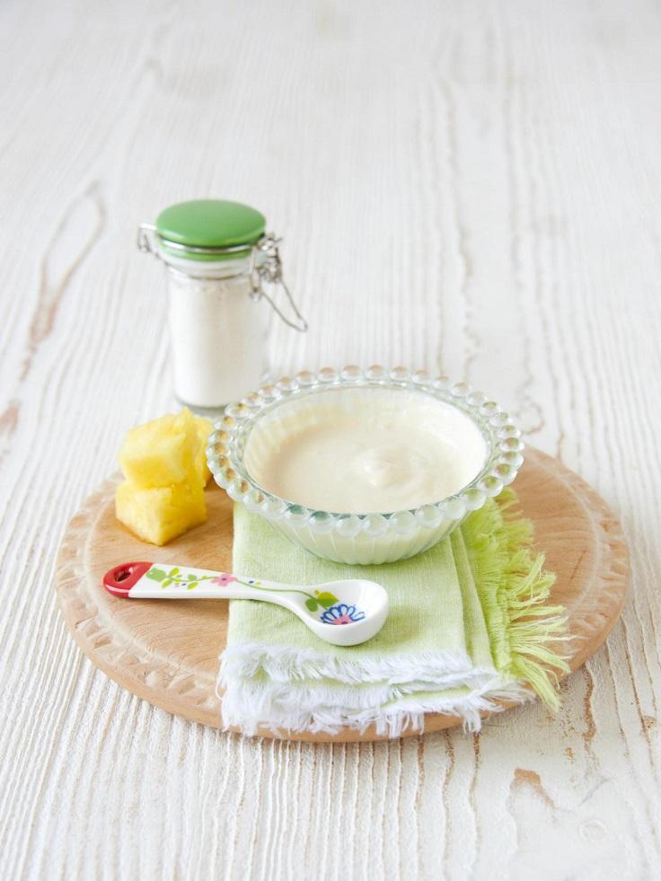 Pineapple-Yogurt-Mask