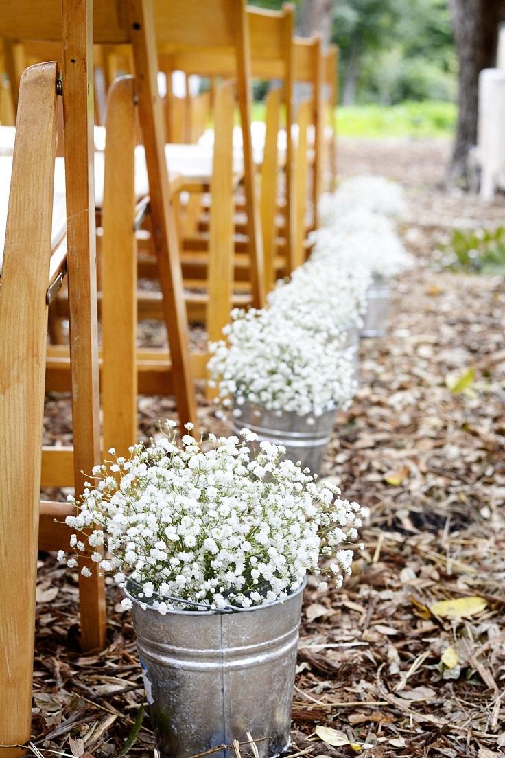 Top 10 Outdoor Aisle Wedding Decoration Ideas