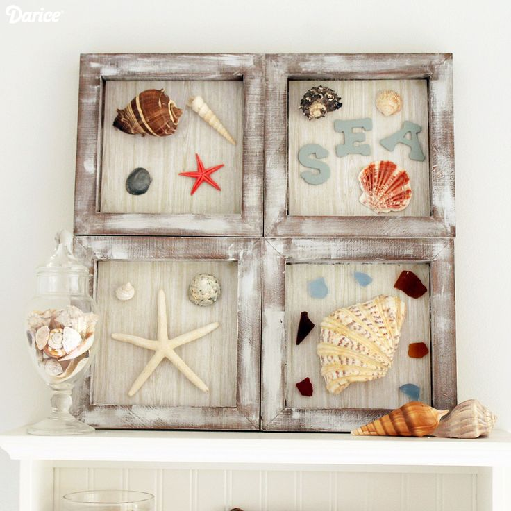 Beach-Themed-Shadowbox