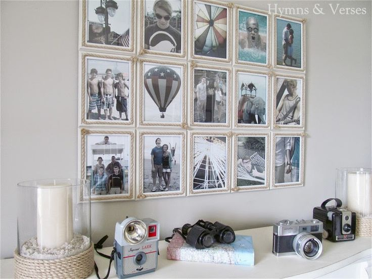 Nautical-Theme-Photo-Display