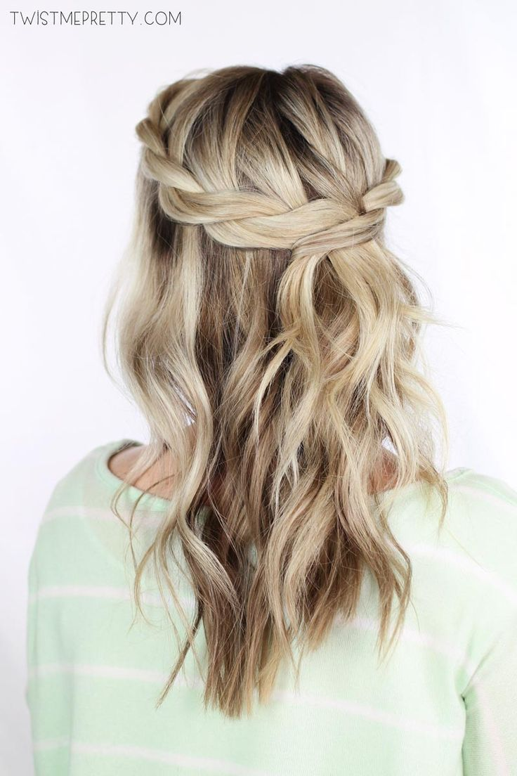 Twisted-Crown-Braid