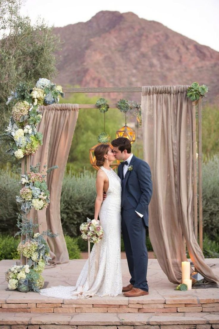 Top 10 Gorgeous Wedding Altar Decor Ideas - Top Inspired
