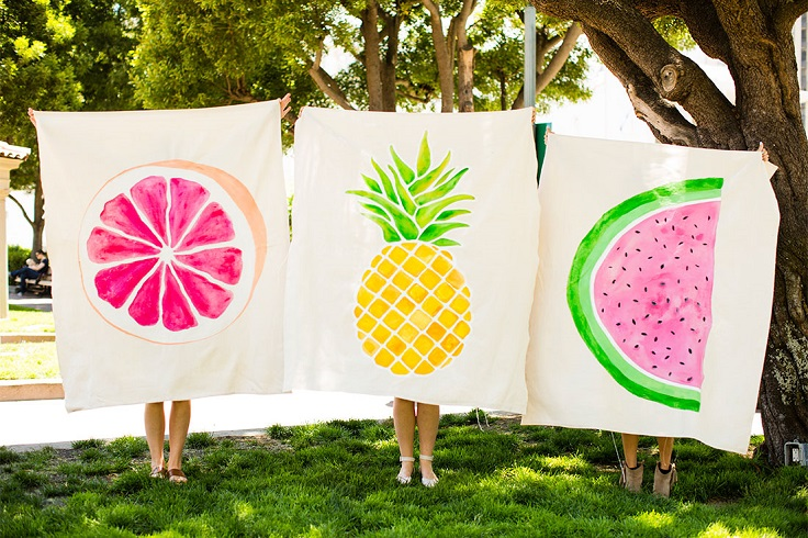Fruit-Print-Blankets