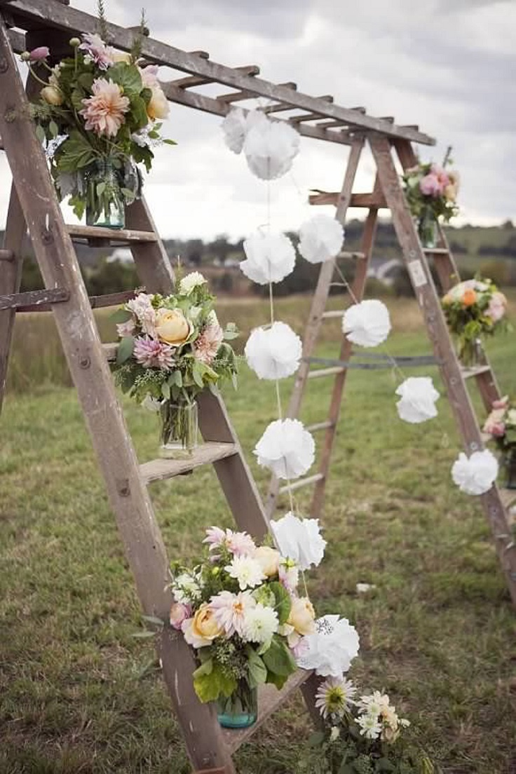 Top 10 gorgeous wedding altar decor ideas top inspired for Altar wedding decoration