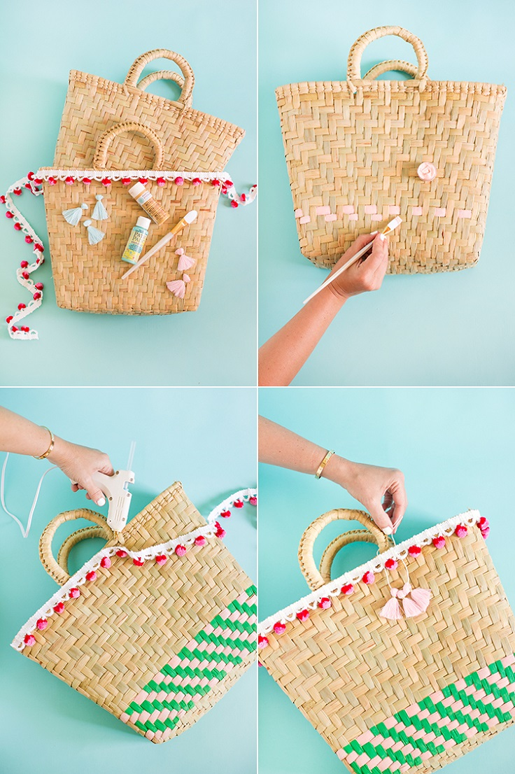 Painted-Beach-Bags