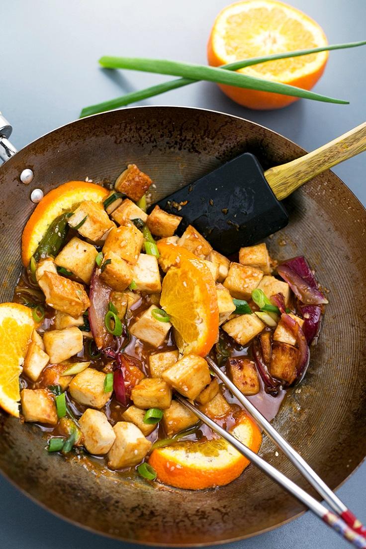Pan-Fried-Orange-Tofu