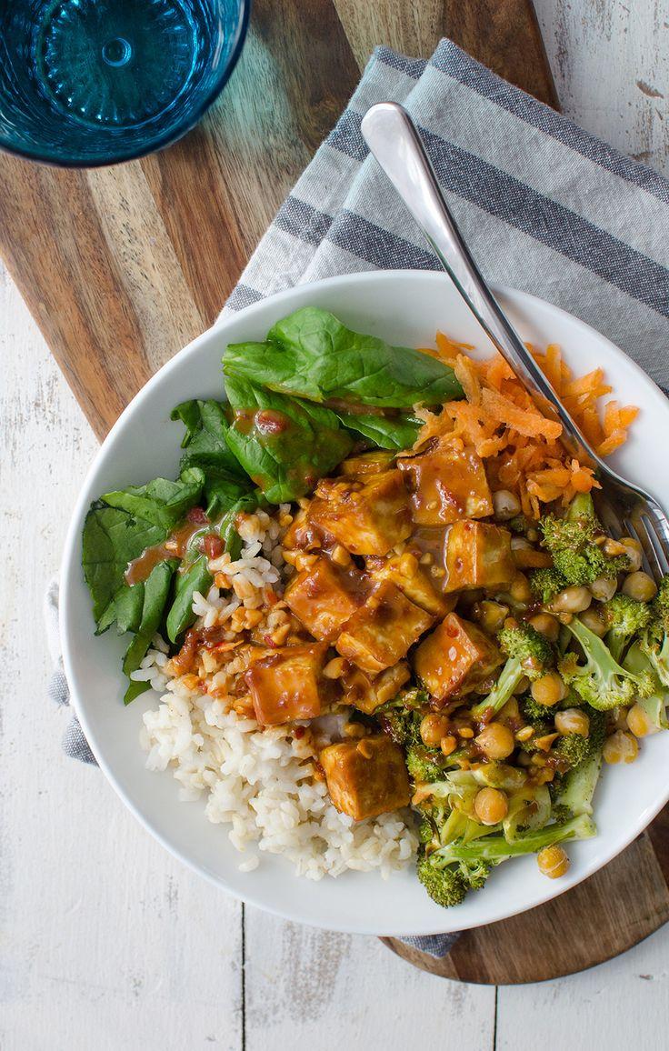 Peanut-Tofu-Buddha-Bowl