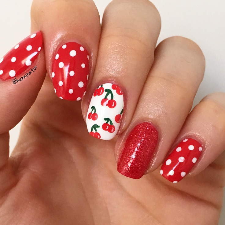 Red-Cherry-Nails