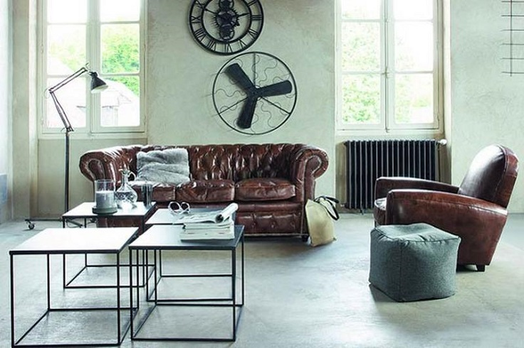 industrial living room furniture top 10 stunning industrial interior ideas for your living 12673