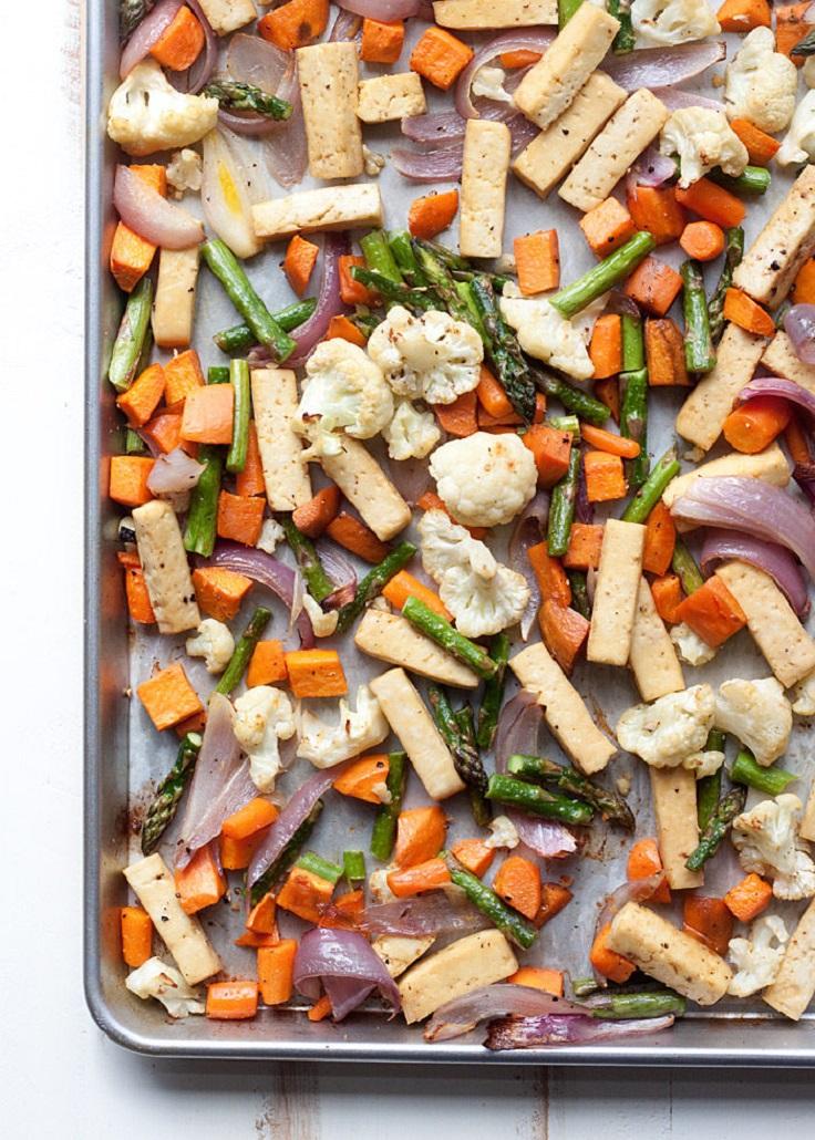 Sheet-Pan-Tofu-Veggie-Dinner