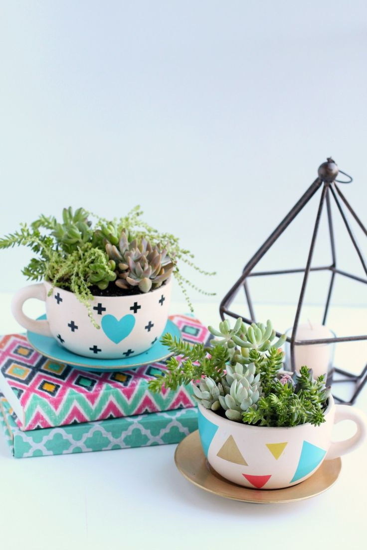 Succulent-Teacup-Planter