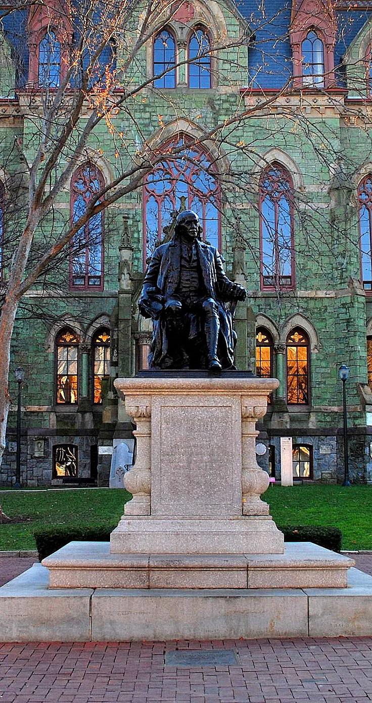 Benjamin-Franklin-Statue