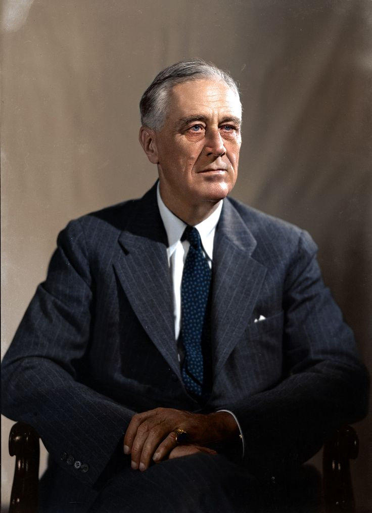 a history of the presidency of franklin delano roosevelt Franklin delano roosevelt, the man who created the tennessee valley authority, became president of the united states in 1933.