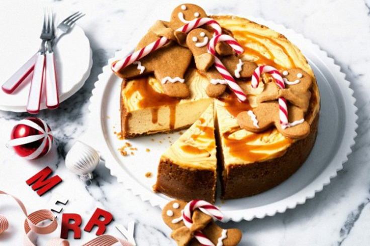 Gingerbread-Cheesecake