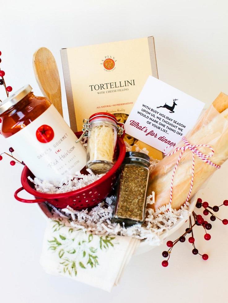 Italian-Dinner-Gift-Basket