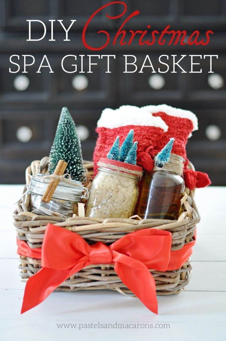 Www Christmas Ideas Decorations For Living Room: Top 10 DIY Gift Basket Ideas For Christmas