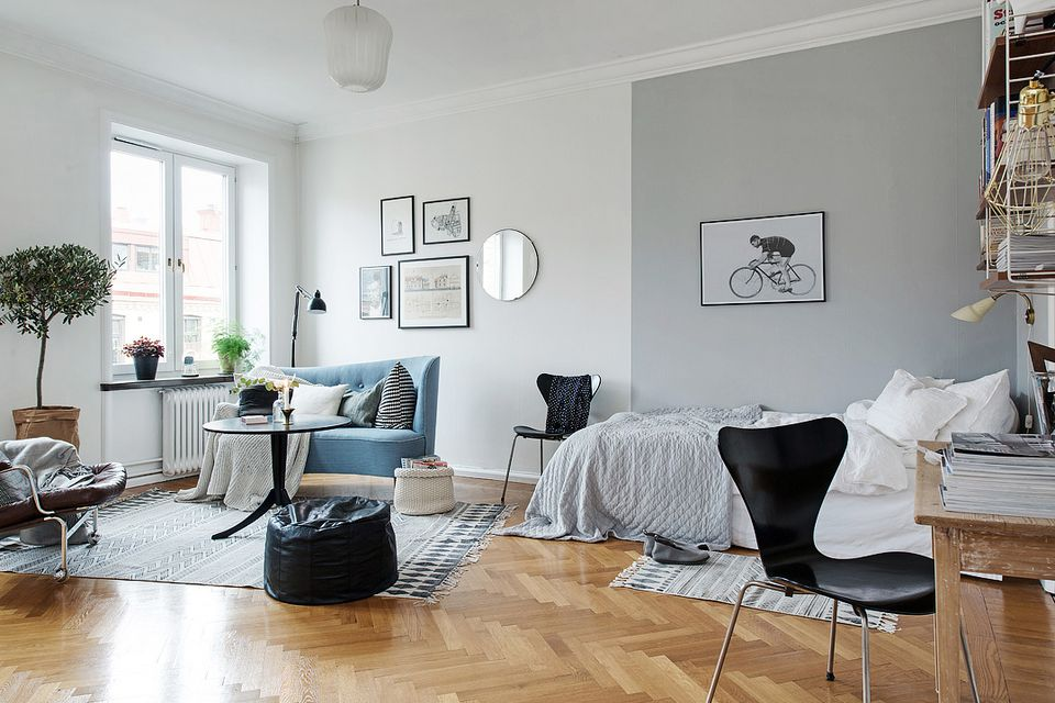 Best 10 Ways To Divide Space In Your Studio Apartment