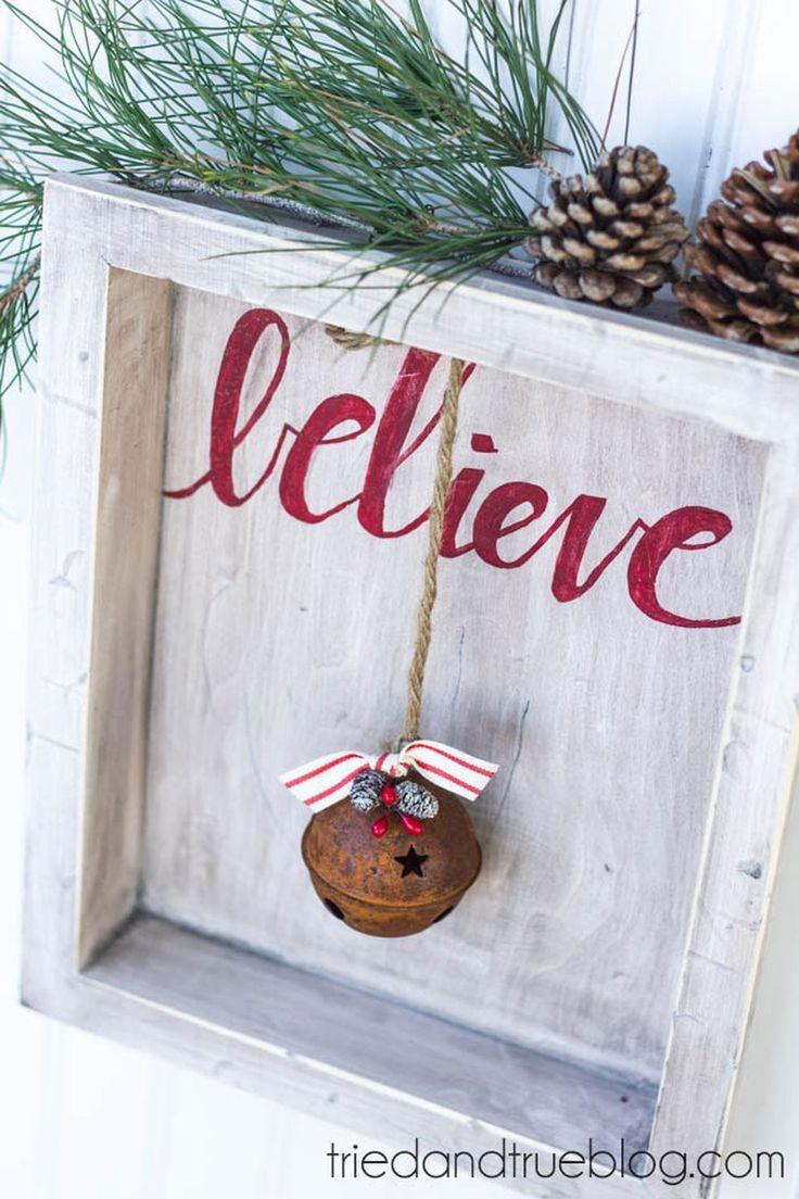 10 creative diy shadow box ideas for christmas crazyforus. Black Bedroom Furniture Sets. Home Design Ideas