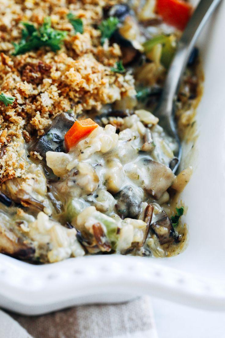 Creamy-Wild-Rice-Mushroom-Casserole