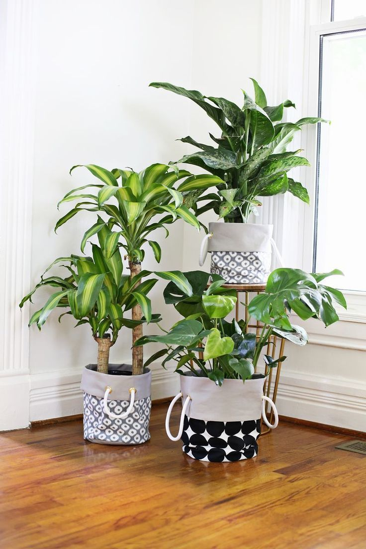 Fabric-Basket-Planter