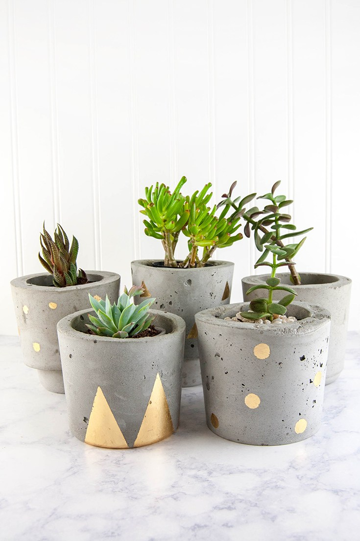 10 Beautiful DIY Indoor Planters crazyforus