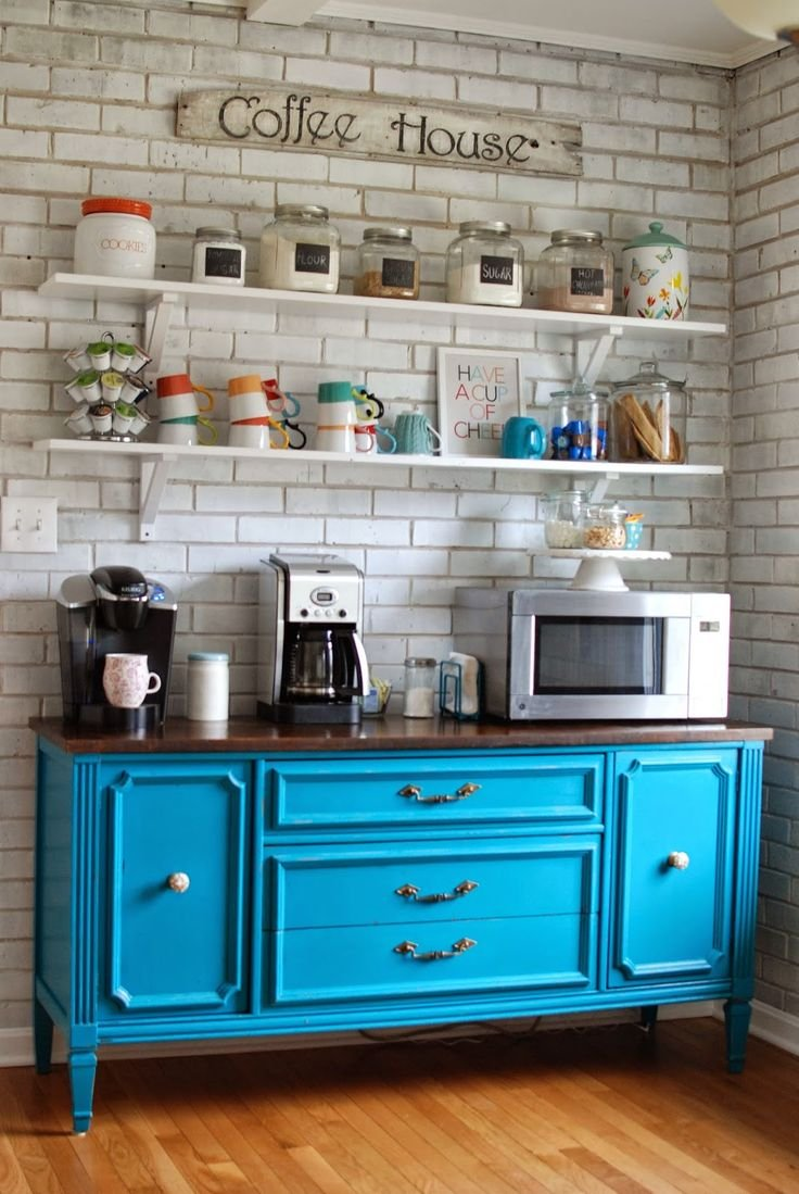 Bold-Colored-Coffee-Station