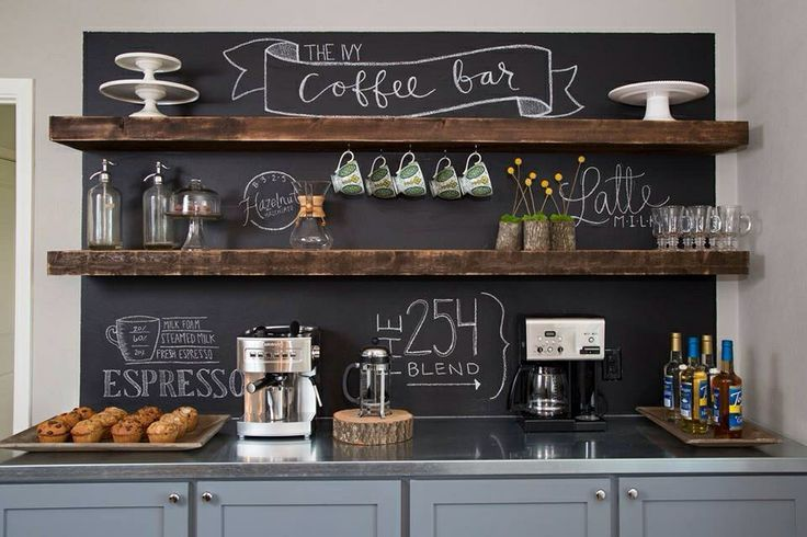 Chalkboard-Coffee-Station