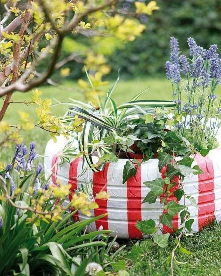 Old-Tires-Planters