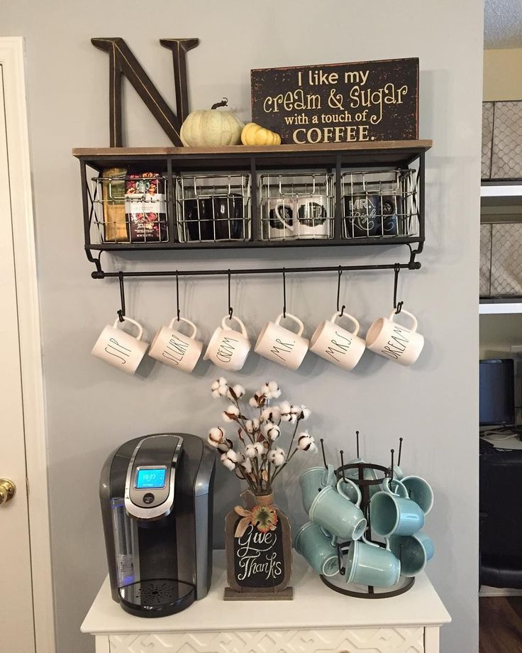 Top 10 Coffee Station Ideas for Your Kitchen