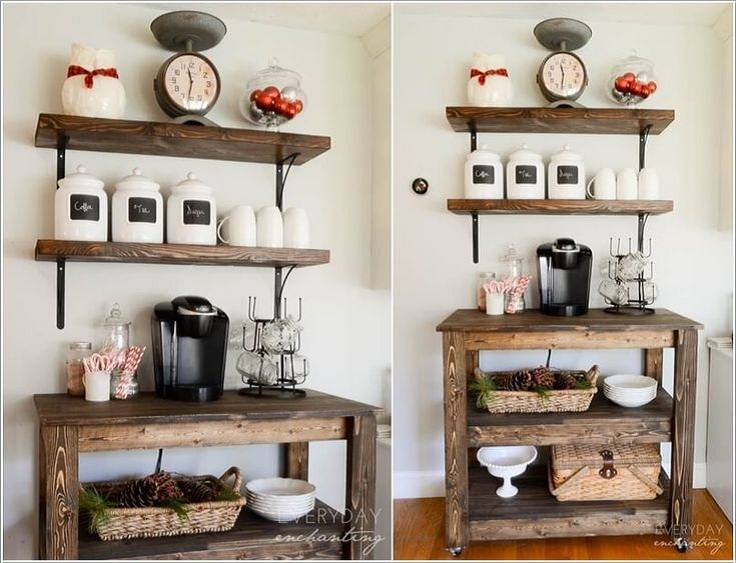 Rustic-Coffee-Station