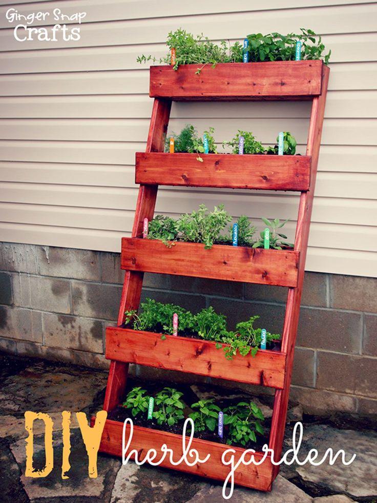 Top 10 DIY Creative Herb Garden Ideas