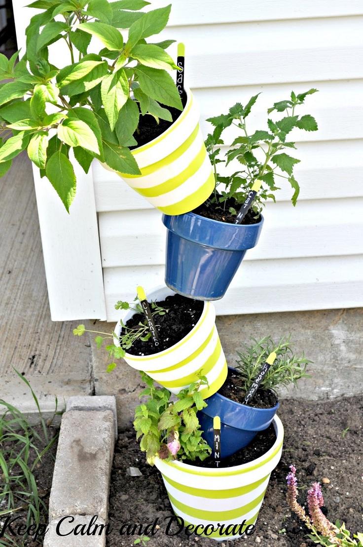 Topsy-Turvy-Herb-Garden