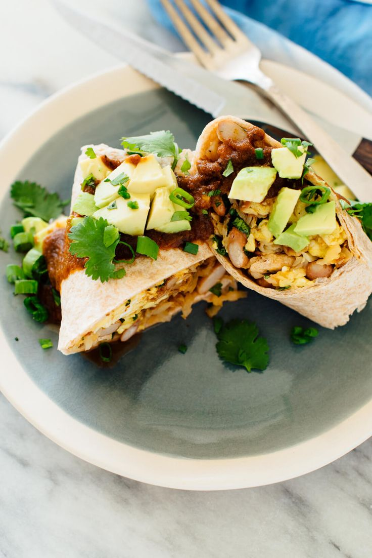Vegetarian-Breakfast-Burritos
