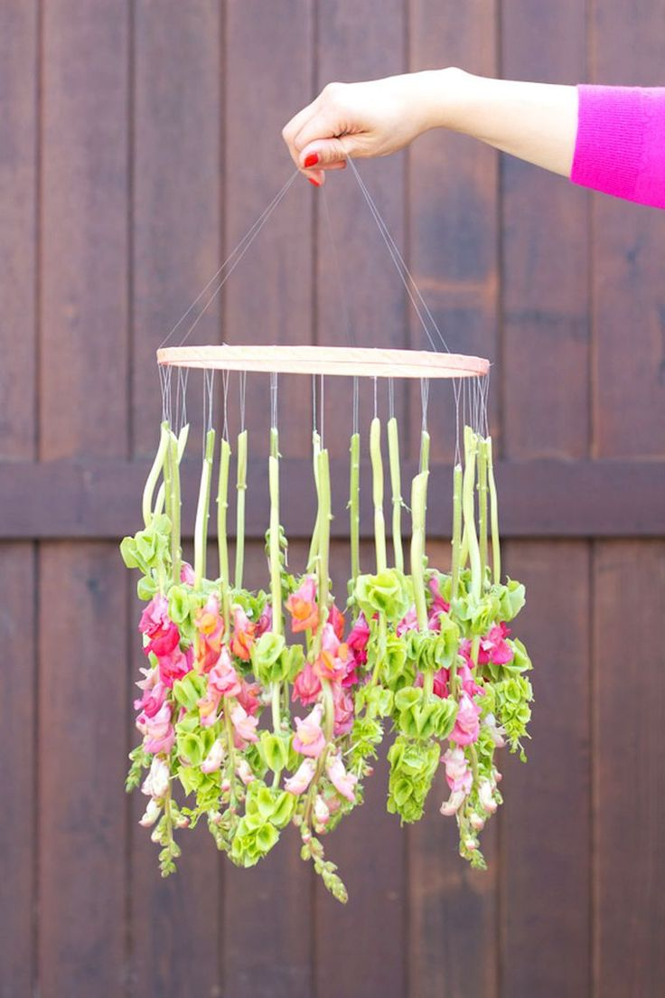 Hanging-Flower-Chandelier