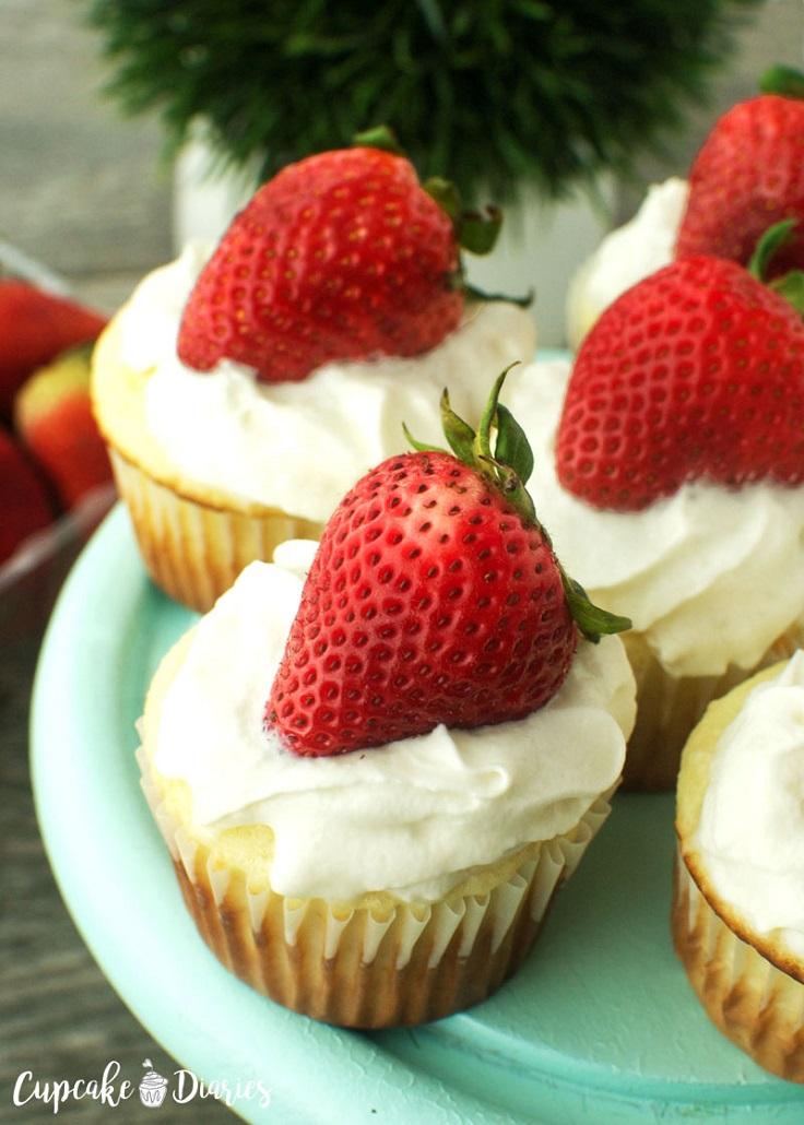 Strawberry-Shortcake-Cupcakes