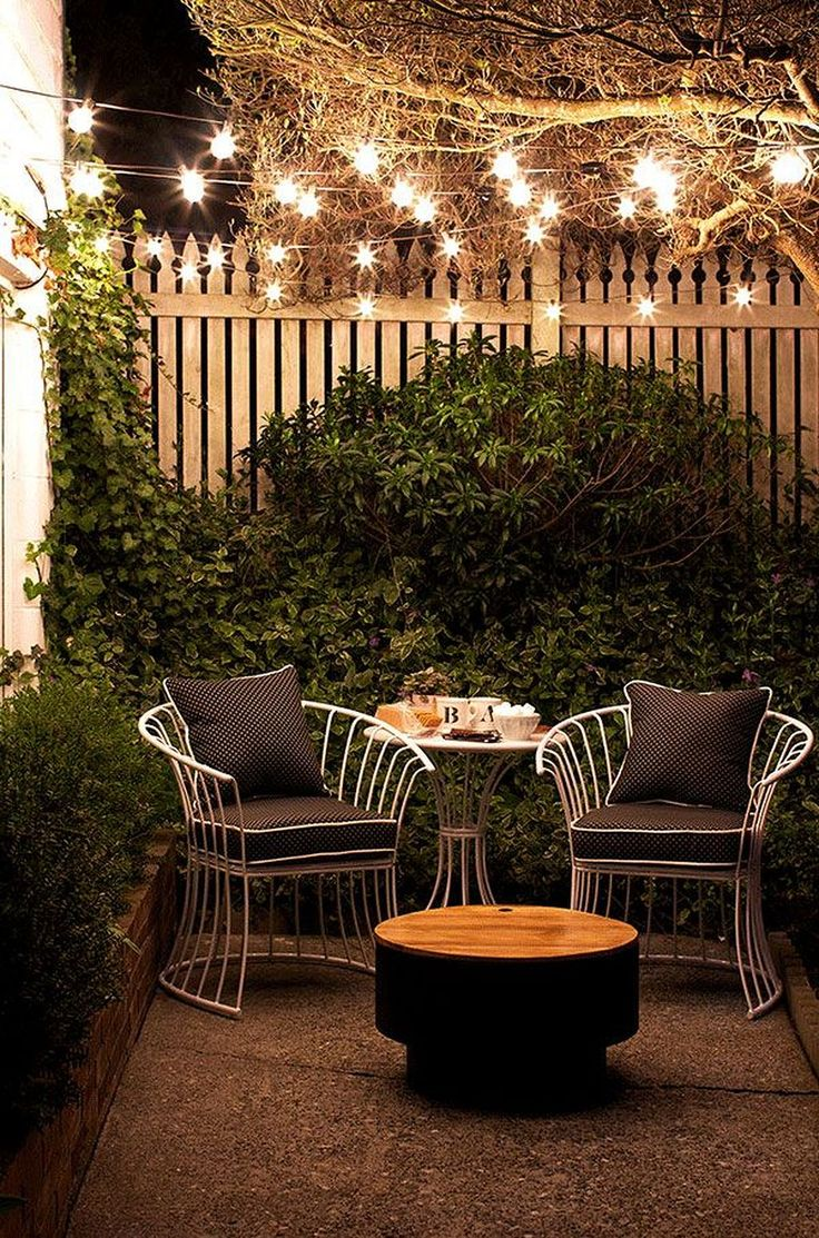 10 Small Patio Decor Ideas - crazyforus on Small Backyard Patio Designs id=79833