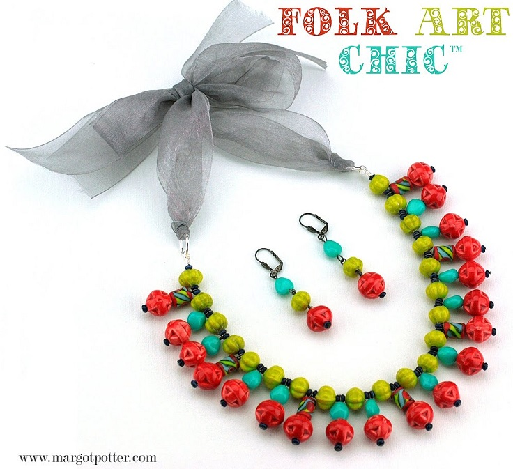 Folk-Art-Necklace