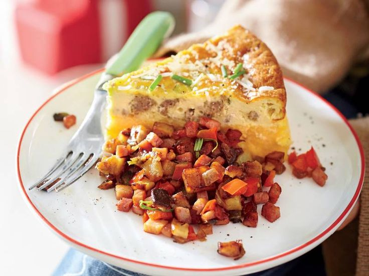 Sausage-and-Cheese-Grits-Quiche